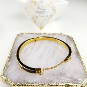 Henri Bendel Enameled Bangle Bracelet
